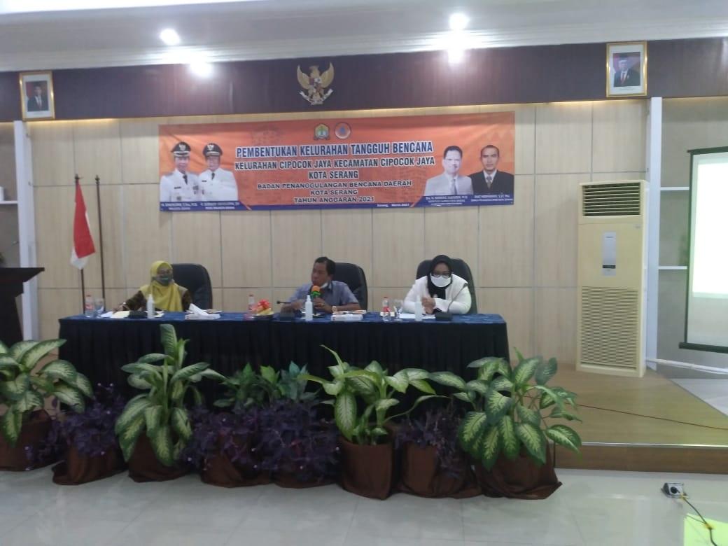 Pembentukan Kelurahan Tangguh Bencana Kecamatan Cipocok Jaya