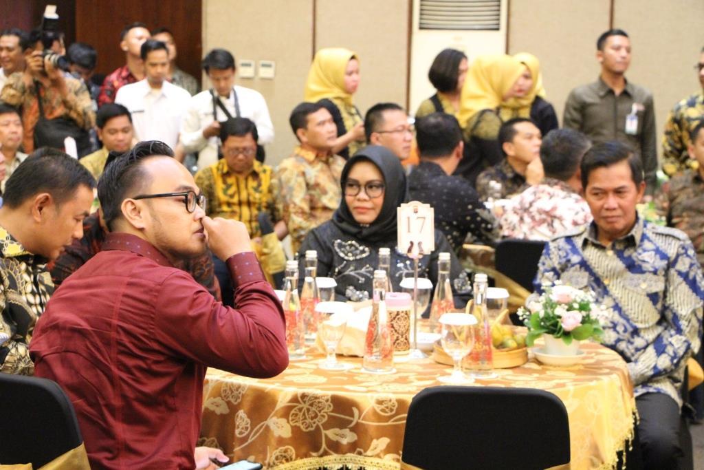08 Januari 2020 Wakil Ketua DPRD Kota Serang Menghadiri Serah Terima Jabatan Kapolda Banten Di Hotel Horizon