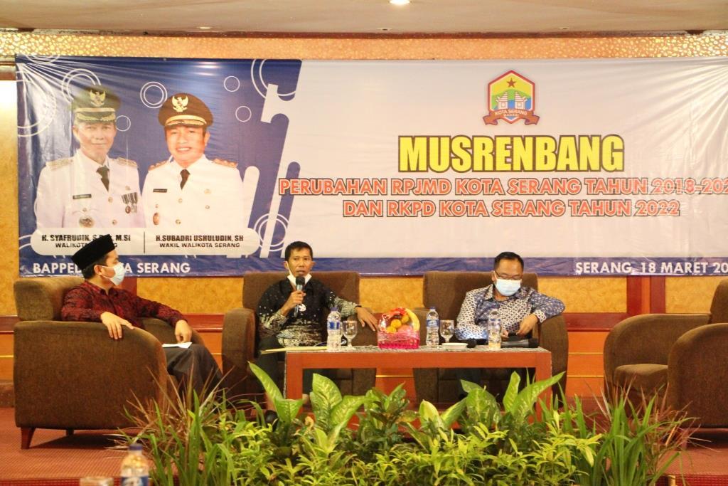 Pokok-pokok Pikiran DPRD Dalam RPJMD Kota Serang